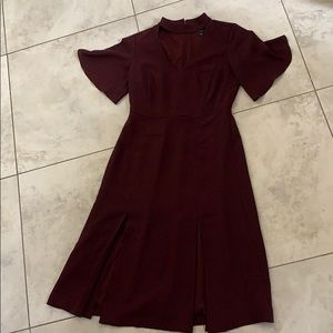 Ann Taylor Dress with cut out and slits Size 0P
